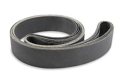 2 X 72 Inch 400 Grit Silicon Carbide Sanding Belts 6 Pack