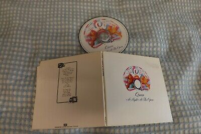 queen a night at the opera cd ex condition 1998 made in japan digi pak