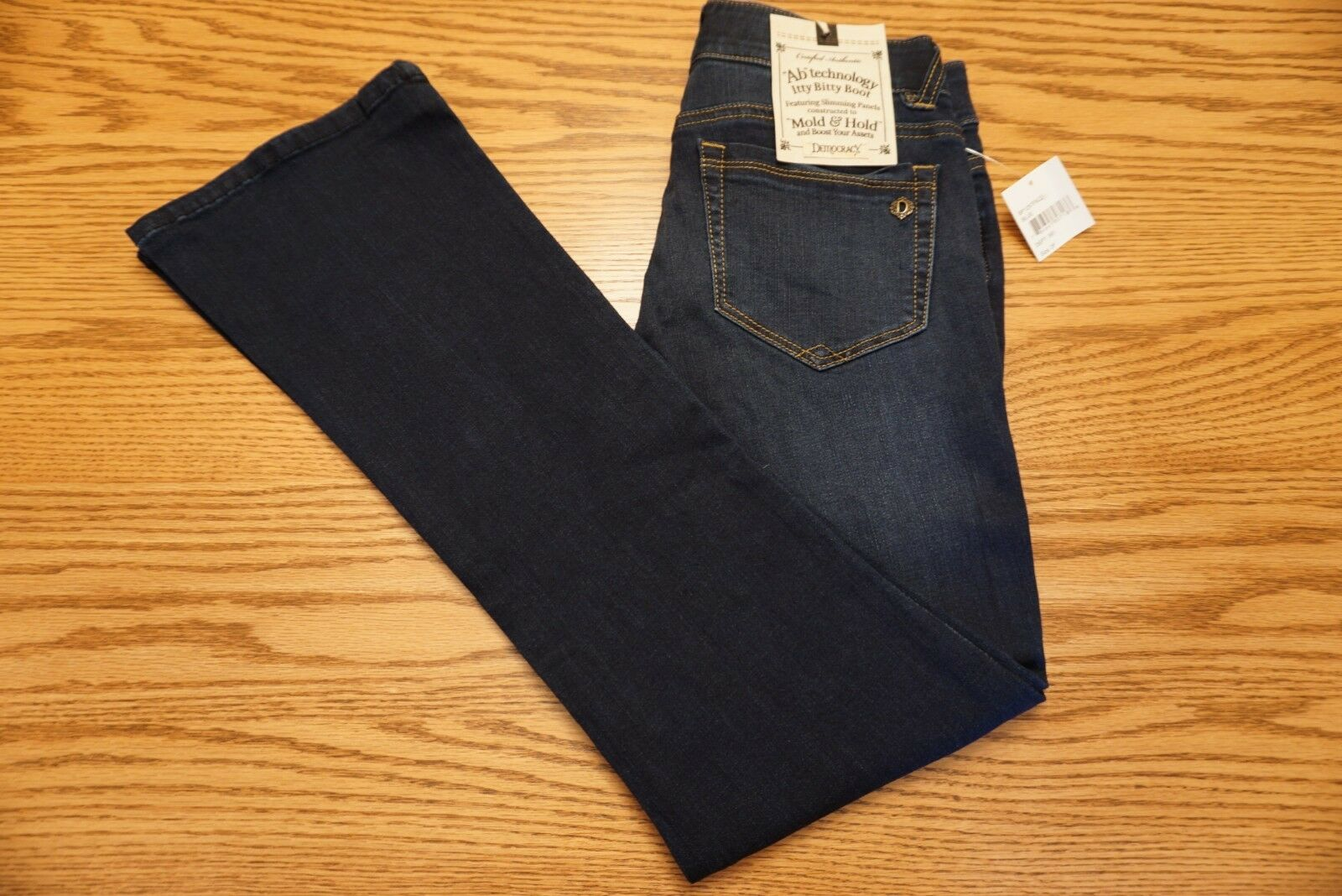 NWT WOMEN'S DEMOCRACY JEANS Multiple Sizes Petite Itty Bitty
