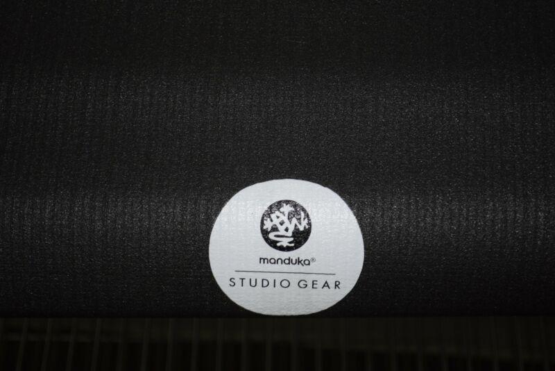 Manduka Studio Gear NEW Dark Gray Yoga Pilates Mat 70.75 x 23.5 6mm HIGH QUALITY