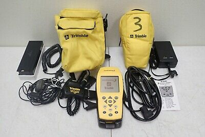 Trimble Geo Explorer 3 38376-00 Gps Data Collector With Charger Battery Cables
