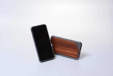 Military-grade Textured Wooden iPhone Case