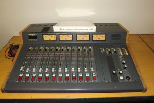 Auditronics 2500 Broadcast Console