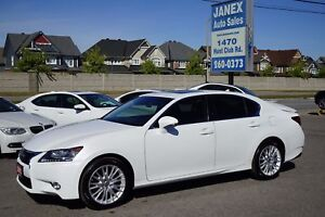 2013 Lexus GS 350 NAVI | AWD | PEARL WHITE | NEW TIRES