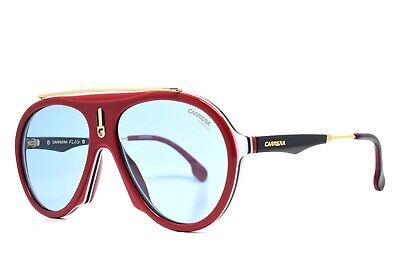 Carrera sunglasses FLAG 6K3 Brand New Burgundy Red Gold Black (Carrera Black Aviator Sunglasses)