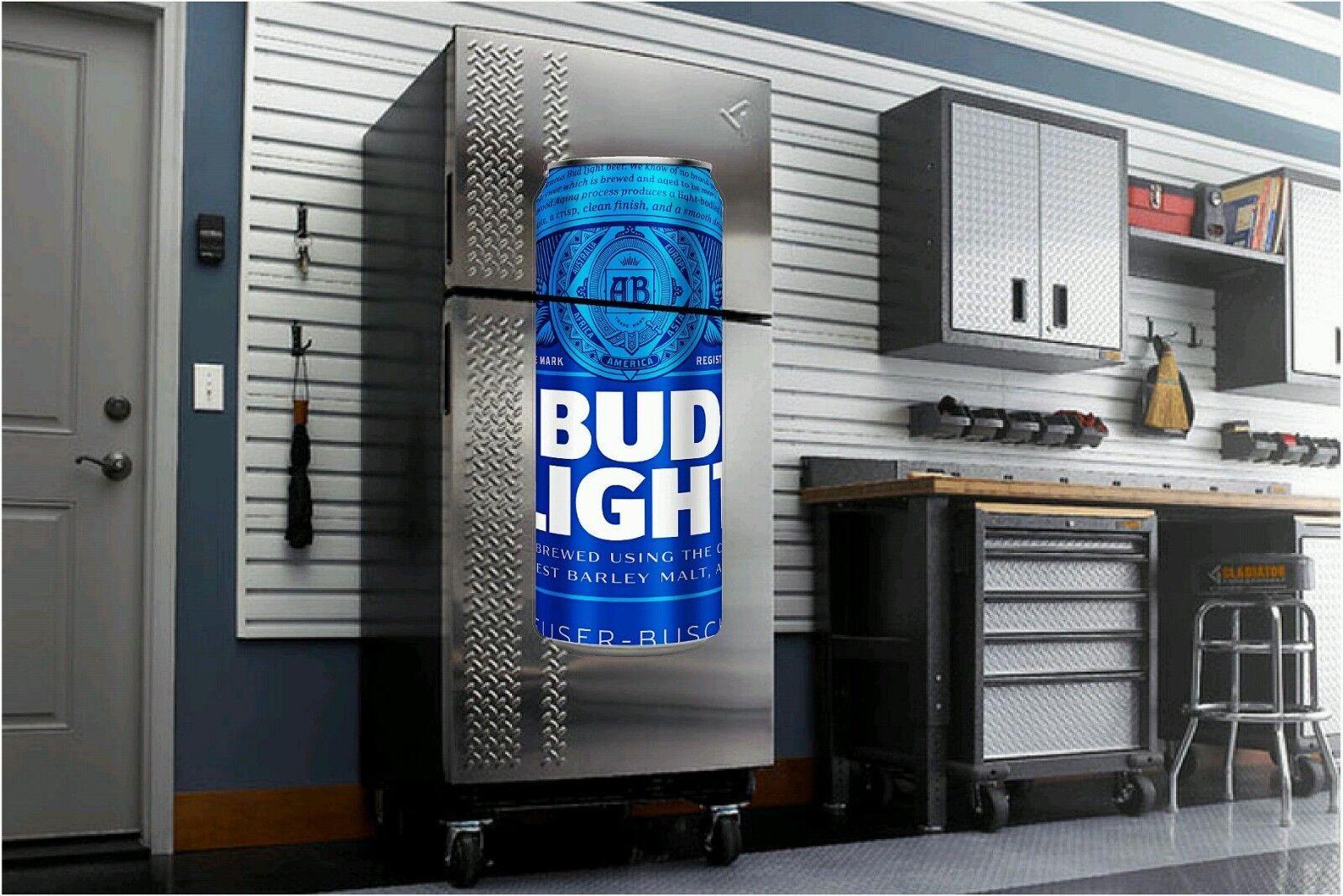 Bud Light Bud Beer fathead wall sticker 4' dorm room man cave refrigerator