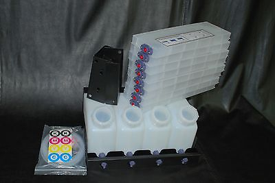 Vertical Bulk Ink System 4x8 For Roland Vs Model Printers. Us Fast Shipping