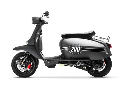 Scomadi TL200 -New -ABS Brakes - Anti-Dive Forks - Fuel Injected