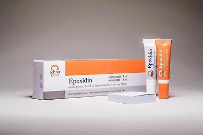 Epoxidin Dental Product Sealer Based On Epoxy Amine Resin Same As Ah Plus