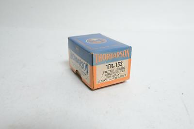 Thordarson Tr-153 Filter Choke 3mh 1000madc .25ohm