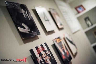 AlbumMount Record Album Frame - Adjustable Wall Mount or Shelf Stand Display
