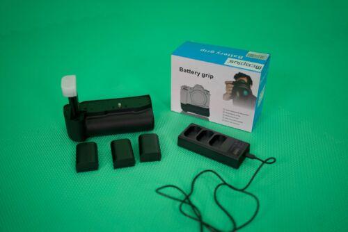 WOW BMPCC6K Battery Grip + Batteries + Triple Charger - Blackmagic Cinema Camera