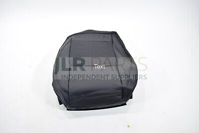 Discovery Sport Front RH Ebony Leather & Suede Seat Base Cover LR078028