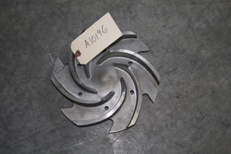 Goulds Pump Impeller 3196LTX 6 Vane 3x4-13 0B10592-1203 316SS