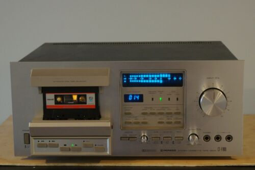 Pioneer CT-F900 Cassette Deck. Works, New Belts. Please Read.