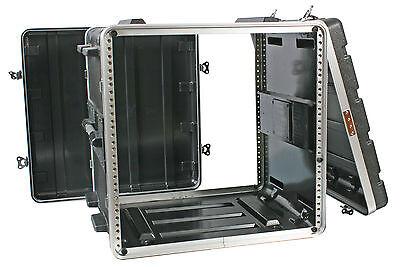 ABS FLIGHT CASE - 19'' 10U - Rack Mount Flightcase [ABS-10U] + 2U 3U 4U 6U 8U)