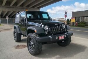 2014 Jeep Wrangler Lifted, MT Tires aAftermarket Rims!