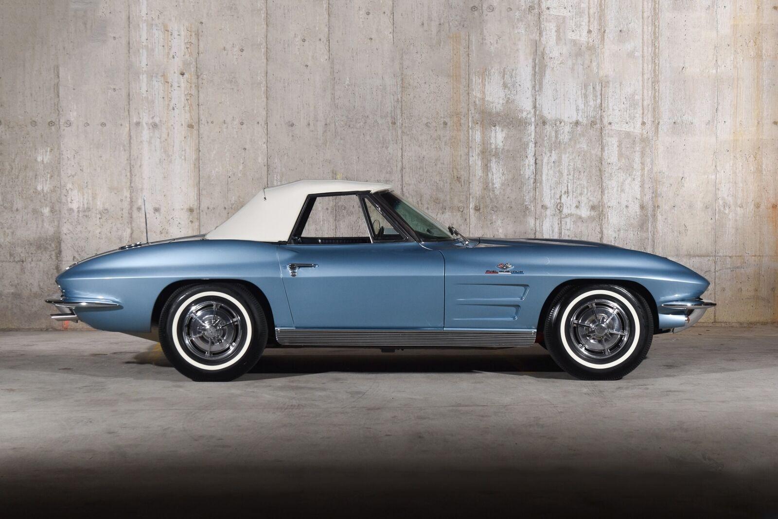 1963 Blue Chevrolet Corvette   | C2 Corvette Photo 10