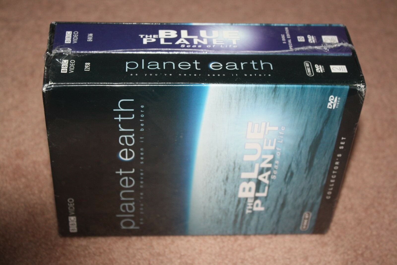Planet Earth/The Blue Planet: Seas of Life (DVD, 2007, 10-Disc Set) *Brand New*