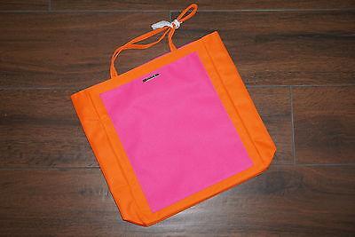 CLINIQUE Tasche orange pink NEU Shopper Strand Tasche Sommer Neon Tragetasche