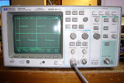 Agilent Hp 54616b Digital Oscilloscope 500mhz 2gss W 1141a Differential Probe