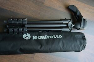 Manfrotto compact action tripod like new