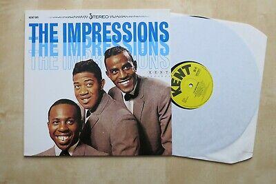THE IMPRESSIONS It's All Right Vinyl LP Kent Records 005 Mint