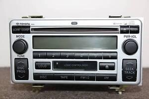 Toyota AM/FM Radio 6 Disc CD Stacker Cassette Player Audio Unit Sydney City Inner Sydney Preview