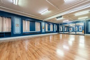 Yoga, dance and creative studio for rent