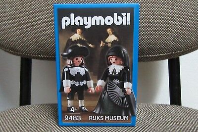 Playmobil - Promocional - Boda Retrato Cuadro Rembrandt - 9483 - (NUEVO)...