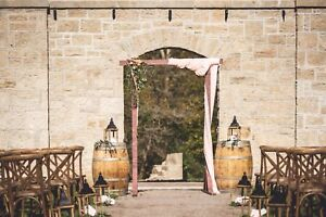 Rustic wedding decor for rent