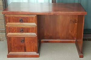 Silkwood Solid Timber Desk Craigmore Playford Area Preview