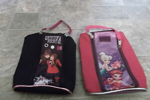 Pencil Cases - camp Rock + Tinkerbell