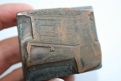 Antique/Old Wooden Bronze Chop Stamp