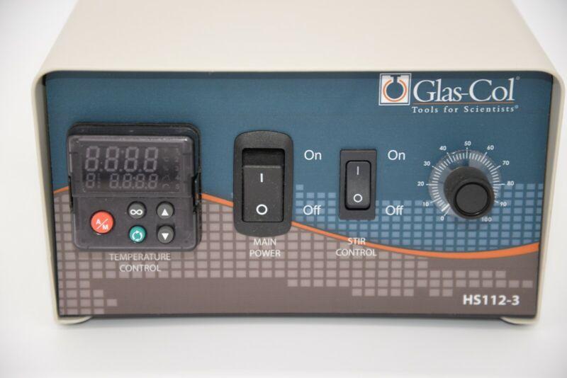 Glas-Col 104A HS112-3 Digital Temperature And Stir Controller 120V 2400W