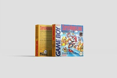 Super Mario Land [Game Boy] Repro Ersatzbox | Leerbox | Replacement Box