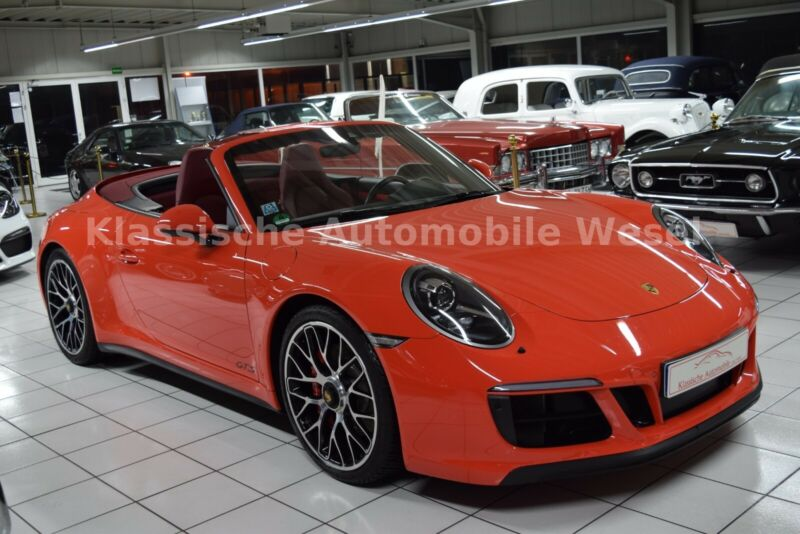 Porsche 991 Carrera GTS Cabrio/Approved/1.Hd/Unikat