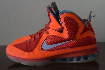 a3cdb0ab7b60 Nike Lebron 9 All-Star Galaxy Big Bang Orange 520811-800 2012 Sz.