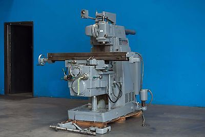 12 X 56 Table Kearney Trecker Kt Horizontal Vertical Metal Milling Machine