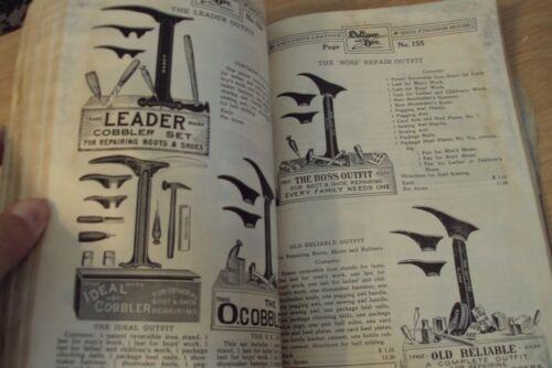 "RARE Antique 1915 DOLLIVER & Bro. ""SHOE SUPPLY CATALOG""~San Francisco CA~PPIE~"