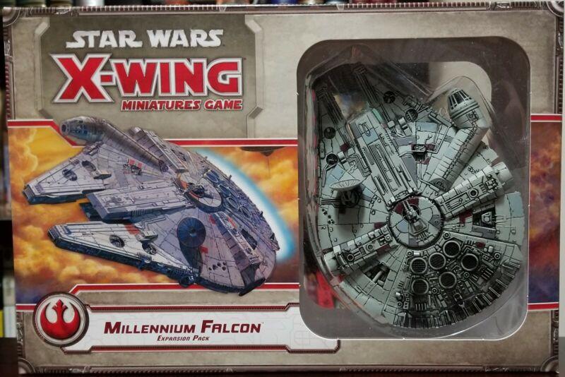 Star Wars Miniatures Game - Millennium Falcon Expansion Pack - NIB (Unsealed)