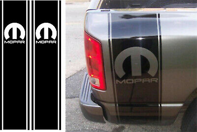 Dodge Ram 1500 2500 350 Hemi Rear Truck Bed Decal Racing Vinyl Stripes Sticker20