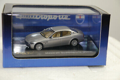 Ricko Maserati Quattroporte 2003 Silver No. 38806 Model Car 1:87 Boxed K28 1