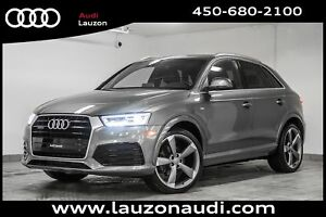 2016 Audi Q3 2.0T TECHNIK S-LINE NAVIGATION 20 ROTORS