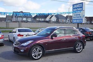 2015 Infiniti QX50 TECHNOLOGY PACKAGE | NAVI | SUNROOF