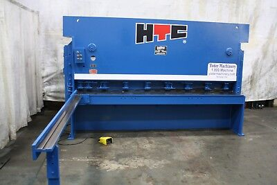 10 X 14 Htc Hydraulic Squaring Shear Stock 66621