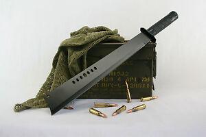 BRAND NEW TACTICAL NINJA MACHETE SWORD / HUNTING KNIFE W/SHEATH