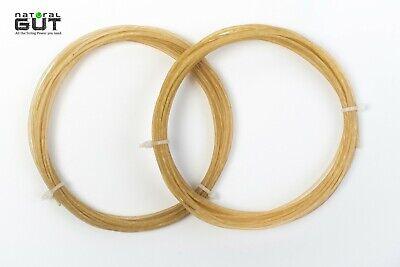 Tennis String Natural - 1 SET N.G.W. 16G V5 100% NATURAL GUT TENNIS RACQUET STRING NATURAL COLOR 40 FEET