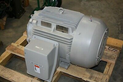 New Siemens 75 Hp Premium Efficiency Electric Motor 1780 Rpm 365tsc Vfd