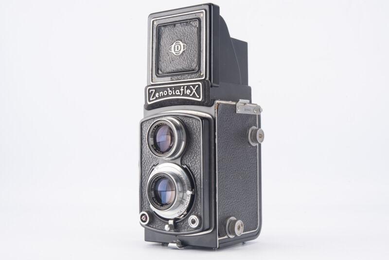 Daiichi Kogaku Zenobiaflex 6x6 Medium Format TLR Camera with 75mm Lens RARE V14